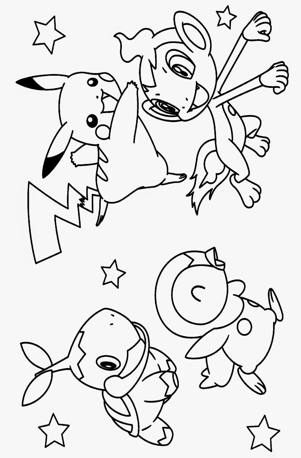 Pokemon Coloring Sheets Free