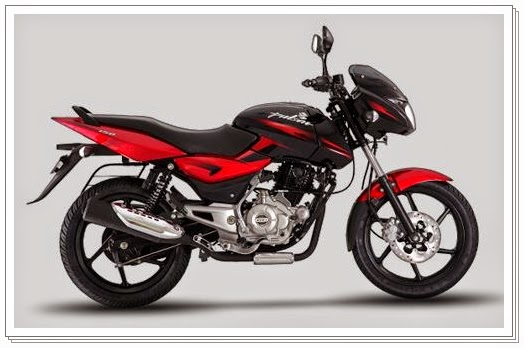 Bajaj Pulsar 150 cc wine red