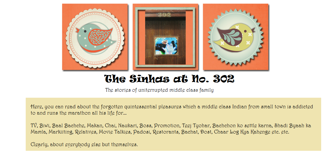 The Sinhas at No. 302