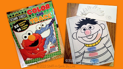 Sesame Street Coloring Book