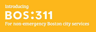 Boston 311: non-emergency City services