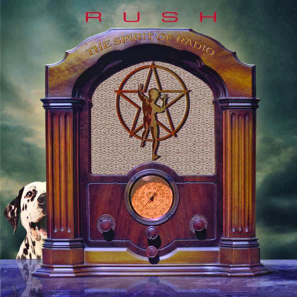Rush - The Spirit of Radio - Greatest Hits 1974-1987 Cover