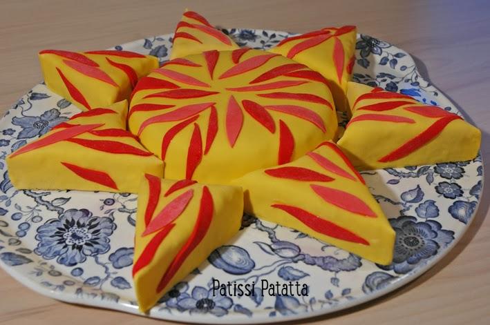 cake design, gâteau 3D, pâte à sucre, gumpaste, fondant, sun cake