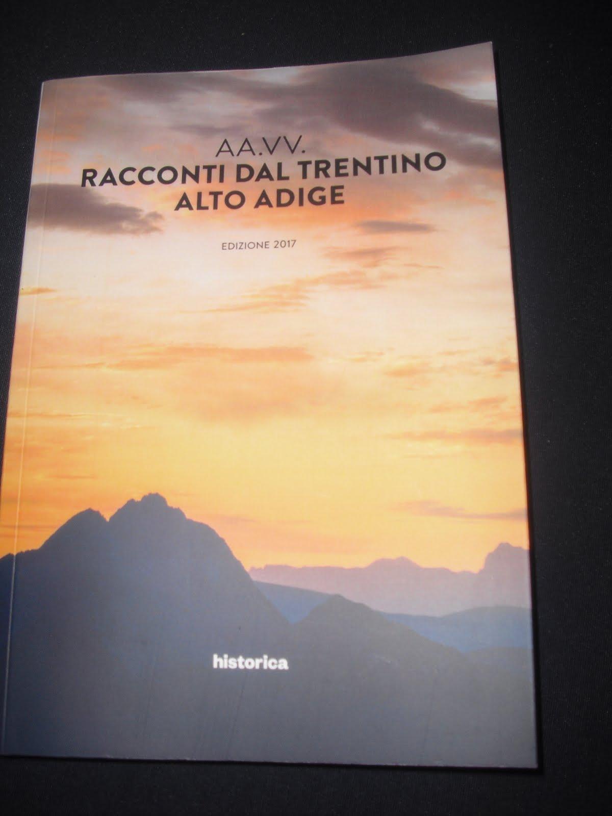 Un mio racconto su Olinda di castel Caldes in val di Sole in questa antologia, compralo qui
