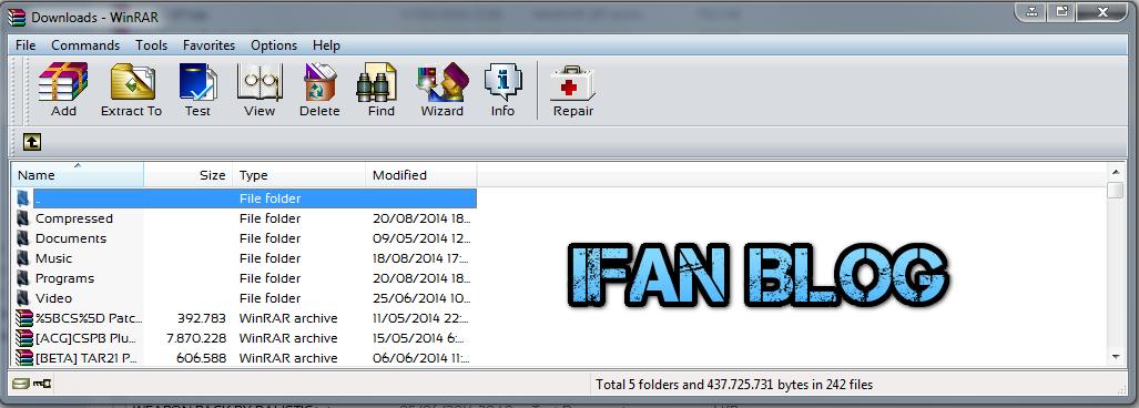 Download WinRAR 5.11 Beta 1 Full Version | Ifan Blog