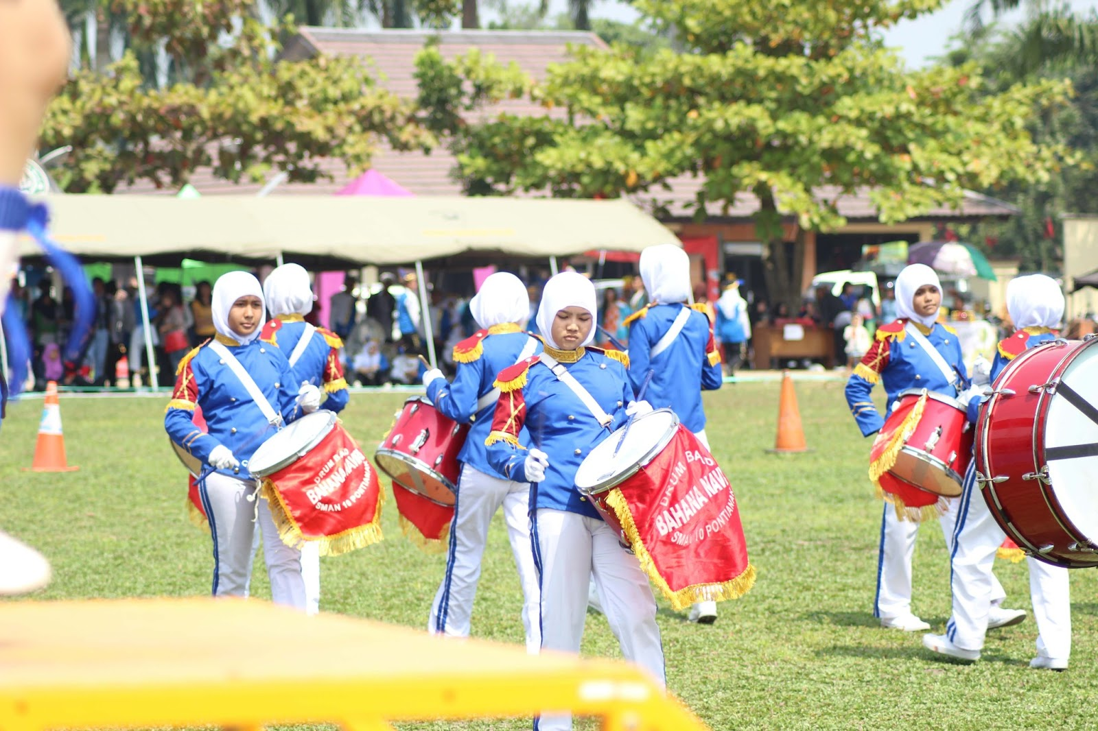 Bahana Naviri Drum Band Sman 10 Pontianak Part 9 Polda Nilai Education Ii
