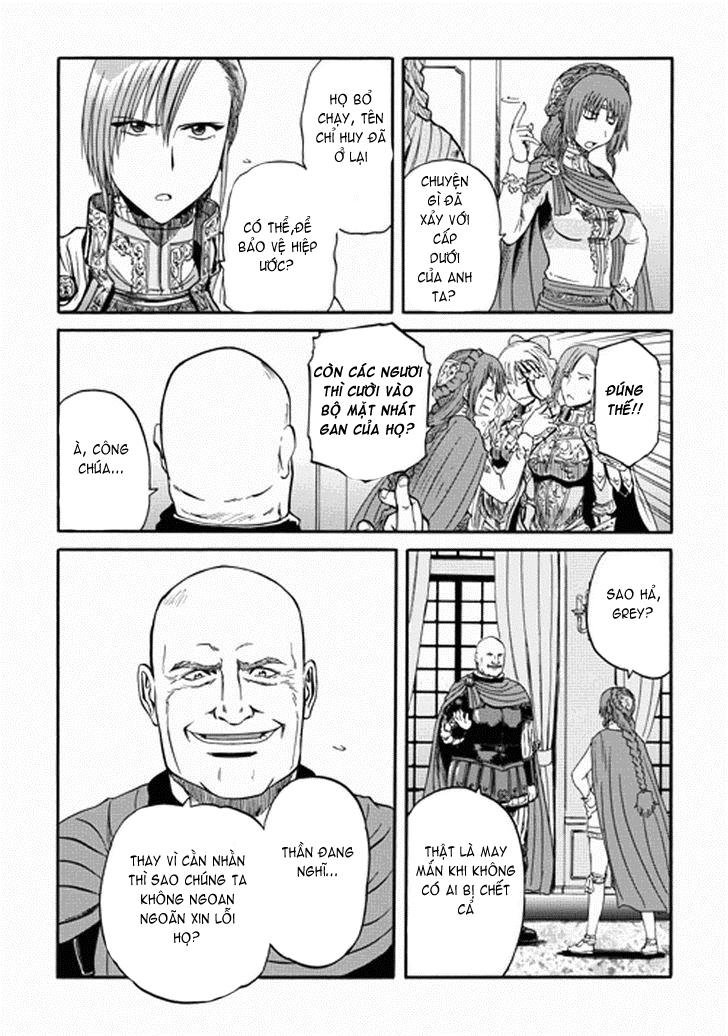 Gate – Jietai Kare no Chi nite, Kaku Tatakeri chap 13 Trang 26 - Mangak.info