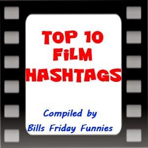 Top 10 film hashtags