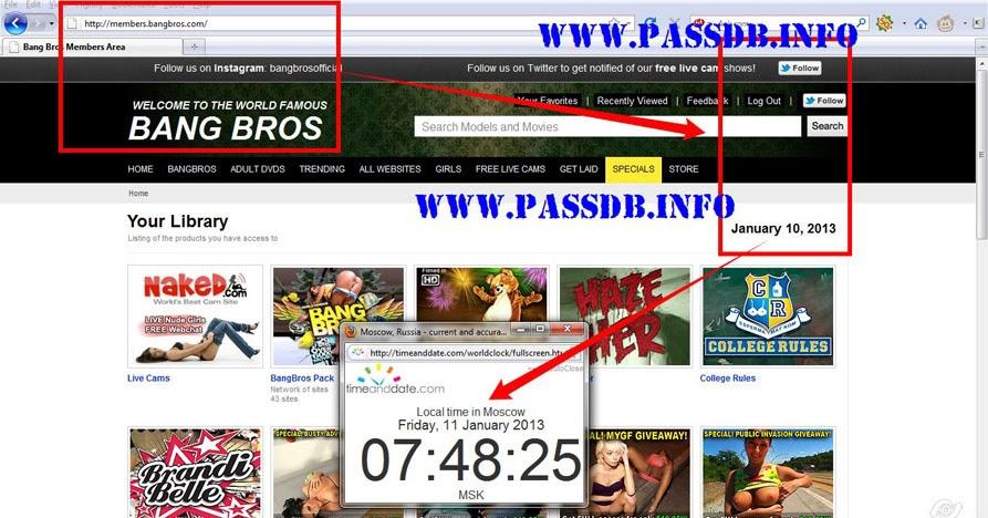free Bang.com passwords