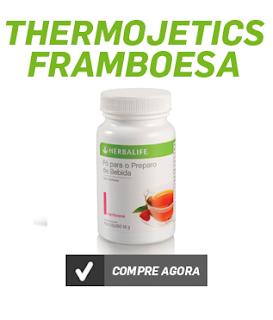 Chá Herbalife Thermojetics Framboesa