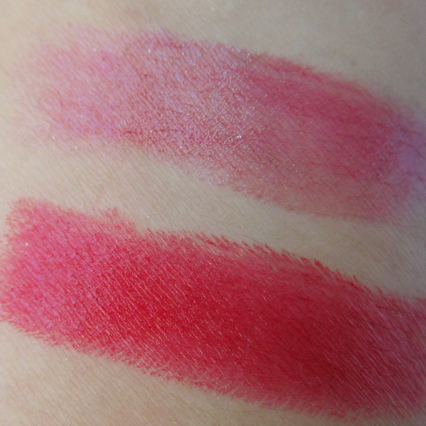 Swatches: Sothys Rouge Doux - 121 Prune Luxembourg - ca. 23.00 Euro / Sothys Rouge Intense - 240 Rouge Drouot - ca. 23.00 Euro