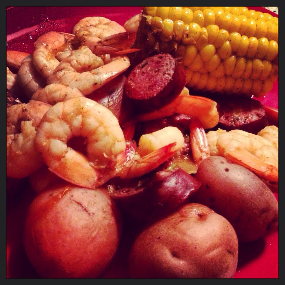Yummies : Cajun Shrimp Boil in Crockpot