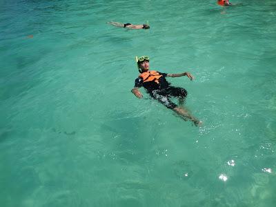 snorkeling, monkey bay, berenang