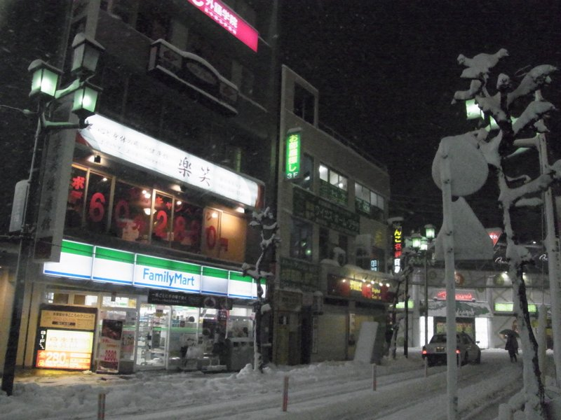 これは今日19時頃の、東京・国分寺駅南口駅前。 積雪はすでに10cmを超えて、もはや状況は雪国、と言ってよいくらいにまでなりました。