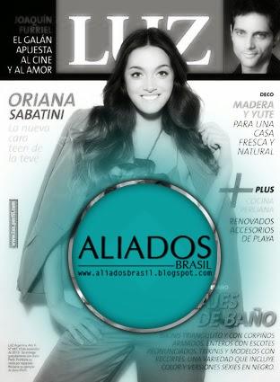 Oriana es tapa de la revista Luz