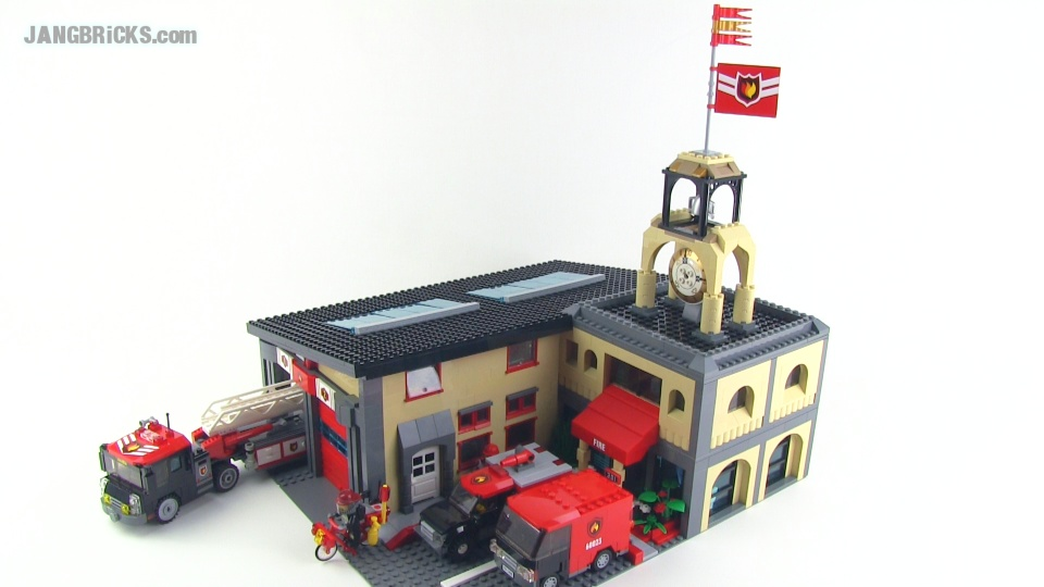 LEGO Custom Fire Station MOC