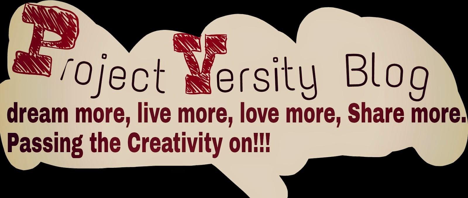 Project 'Versity Blog...