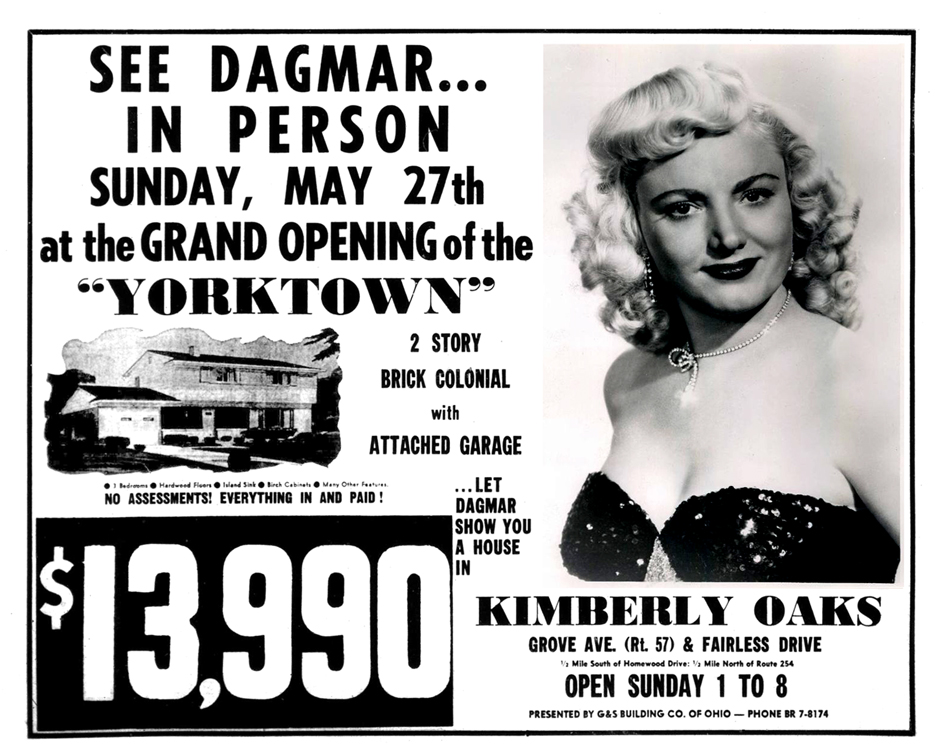 Brady's Lorain County Nostalgia: When Dagmar came to Lorain