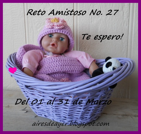 RETO AMISTOSO 27!!!  CUMPLIDO..