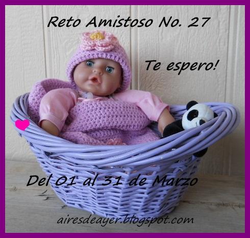 RETO AMISTOSO 27!!!  CUMPLIDO..