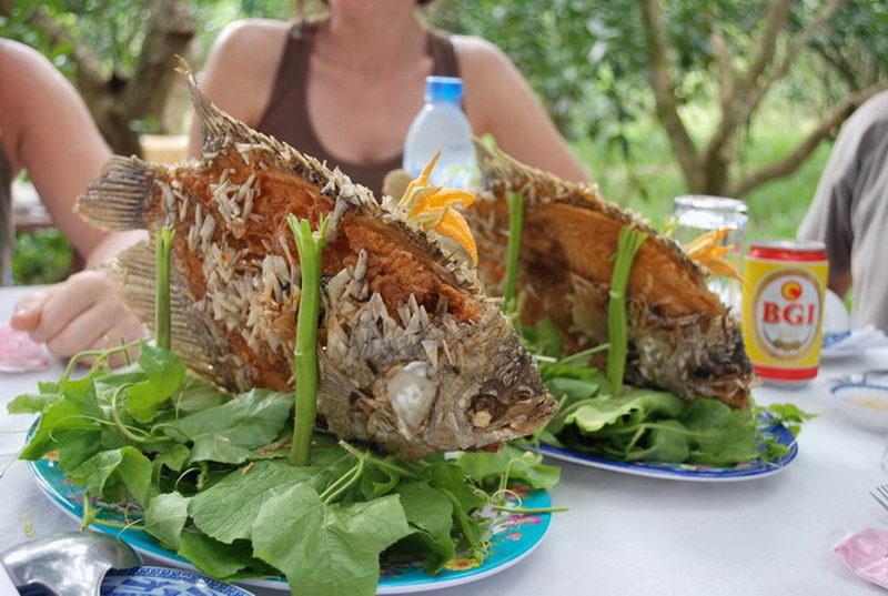Cá tai tượng chiên xù, món ăn đặc sản ở miền tây
