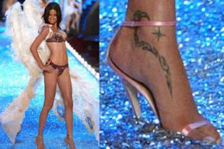 Adriana Lima Tattoo Designs
