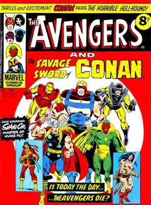 Marvel UK, The Avengers #99