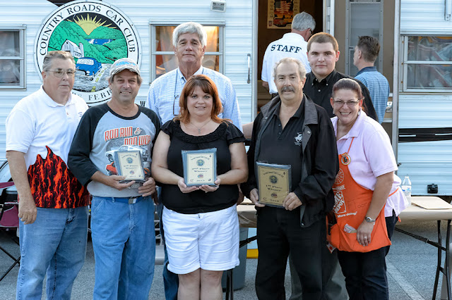Winners from the Country Roads Car Club Chili Cook-Off