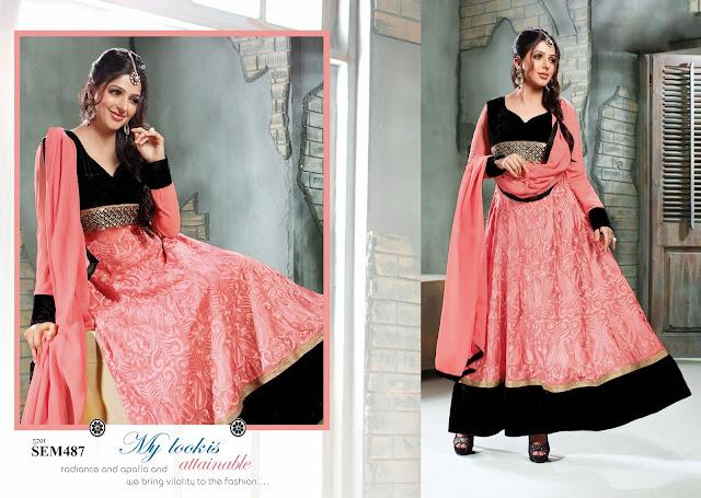 Bhumika Chawla In Designer Georgette Anarkali Suit