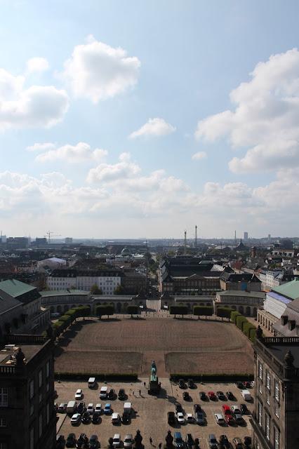 Schloss Christiansborg Tårnet | Blick nach Westen