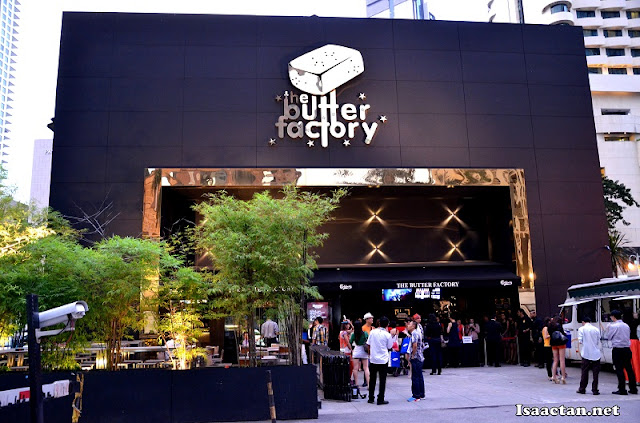 The venue: The Butter Factory KL