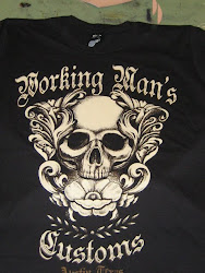 Support Working Man&#39;s Customs and buy a shirt!!
