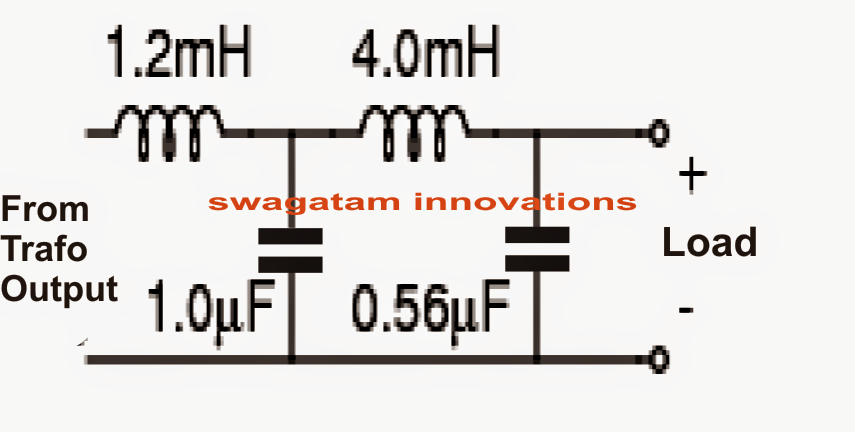 modify a square wave inverter into a sine wave inverter