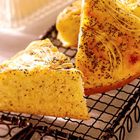 Onion-Cheese Supper Bread