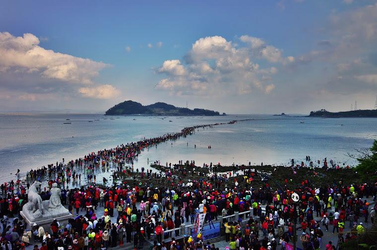 JINDO SEA WAY  珍島 바닷길