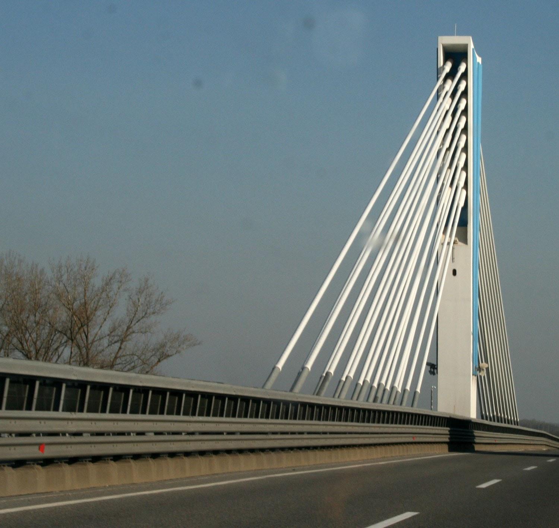 A bridge in Hungary