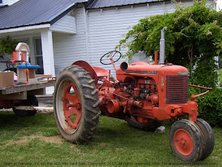 Case SC tractor