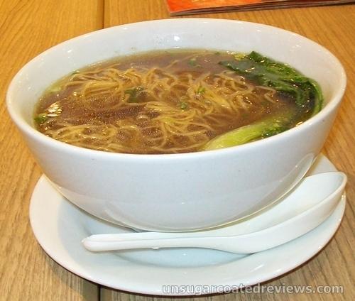 noodle soup at Mongkok Dimsum & Noodles