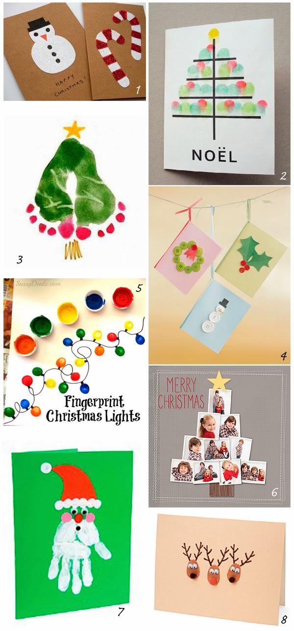 Almagra32 diy felicitaciones navide as for Tarjetas de navidad para ninos pequenos