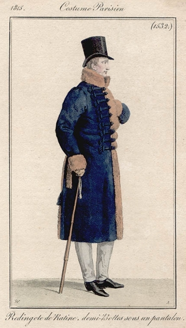 Costume Parisien 1815