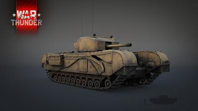 неординарный танк Churchill Mk.III