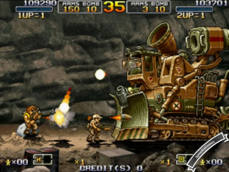 Metal Slug 1 Screenshots