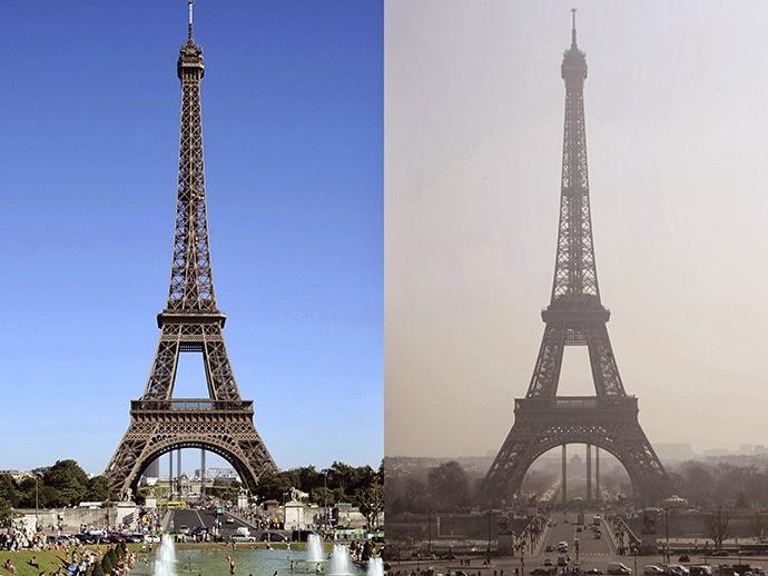 Resultado de imagem para paris pollution