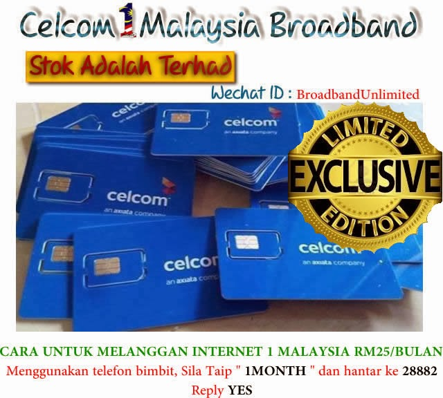 1Malaysia Unlimited Broadband