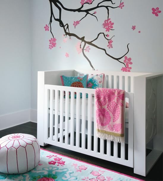 decoracao de pequenos ambientes residenciais : decoracao de pequenos ambientes residenciais:Modern Baby Girl Nursery Ideas