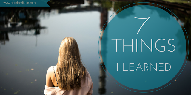 Things I Learned — October Blogging Challenge Day 7