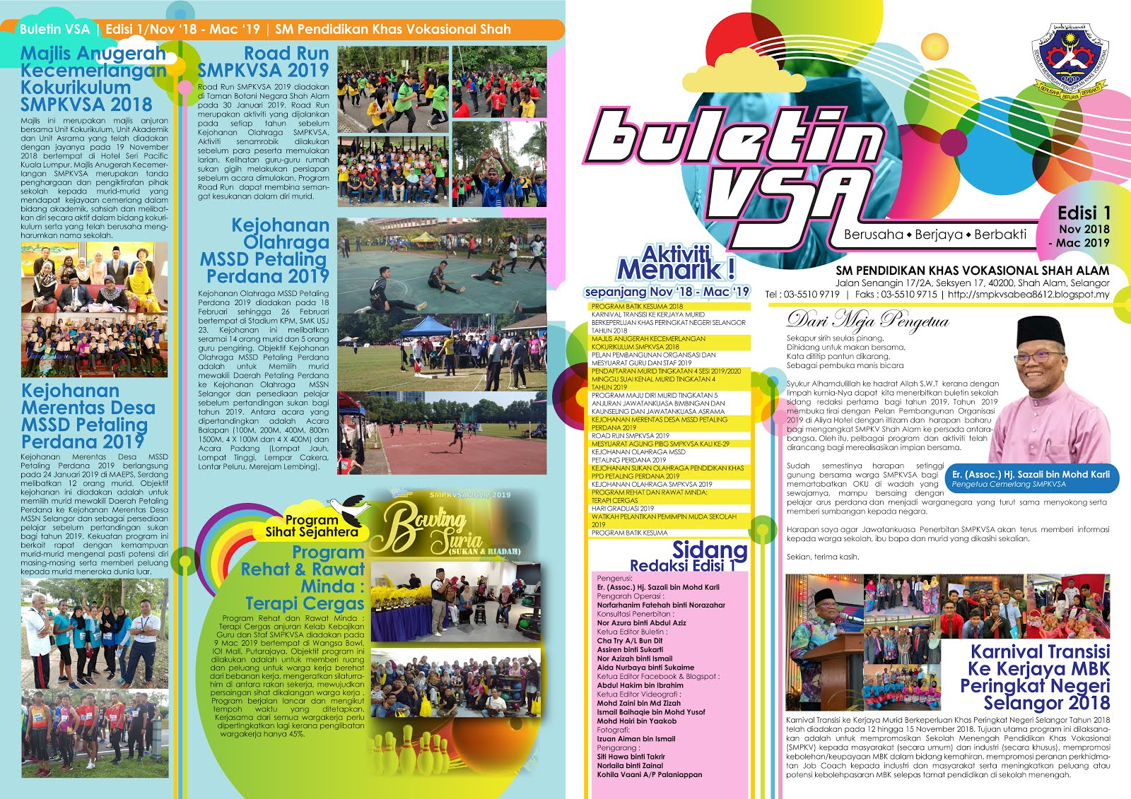 Buletin Edisi 1 2019 (November 2018-March 2019