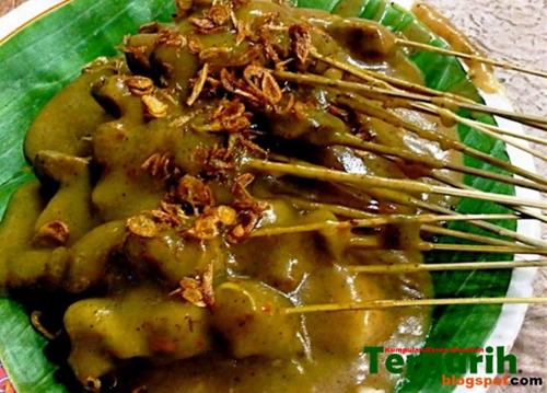 Resep dan Cara Membuat Sate Padang asli pariaman yang empuk, enak dan gurih