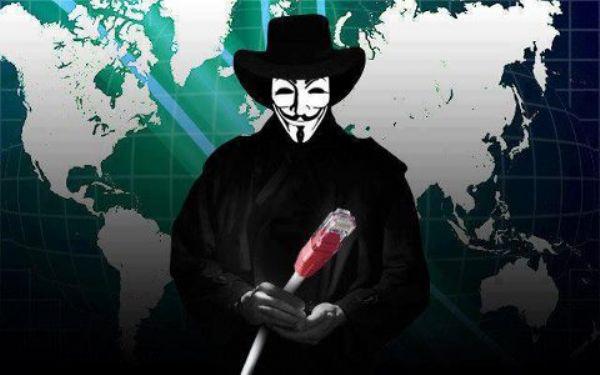 ما هي الشركة التي تتهمها مجموعة الانيموس بحماية مواقع داعش على الانترنت ؟