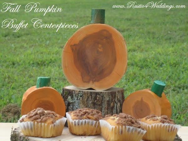 Church Fall Pumpkin Centerpieces